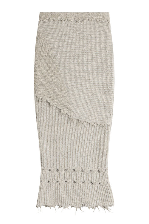 DAMIR DOMA Knit Skirt With Wool And Alpaca at STYLEBOP.com