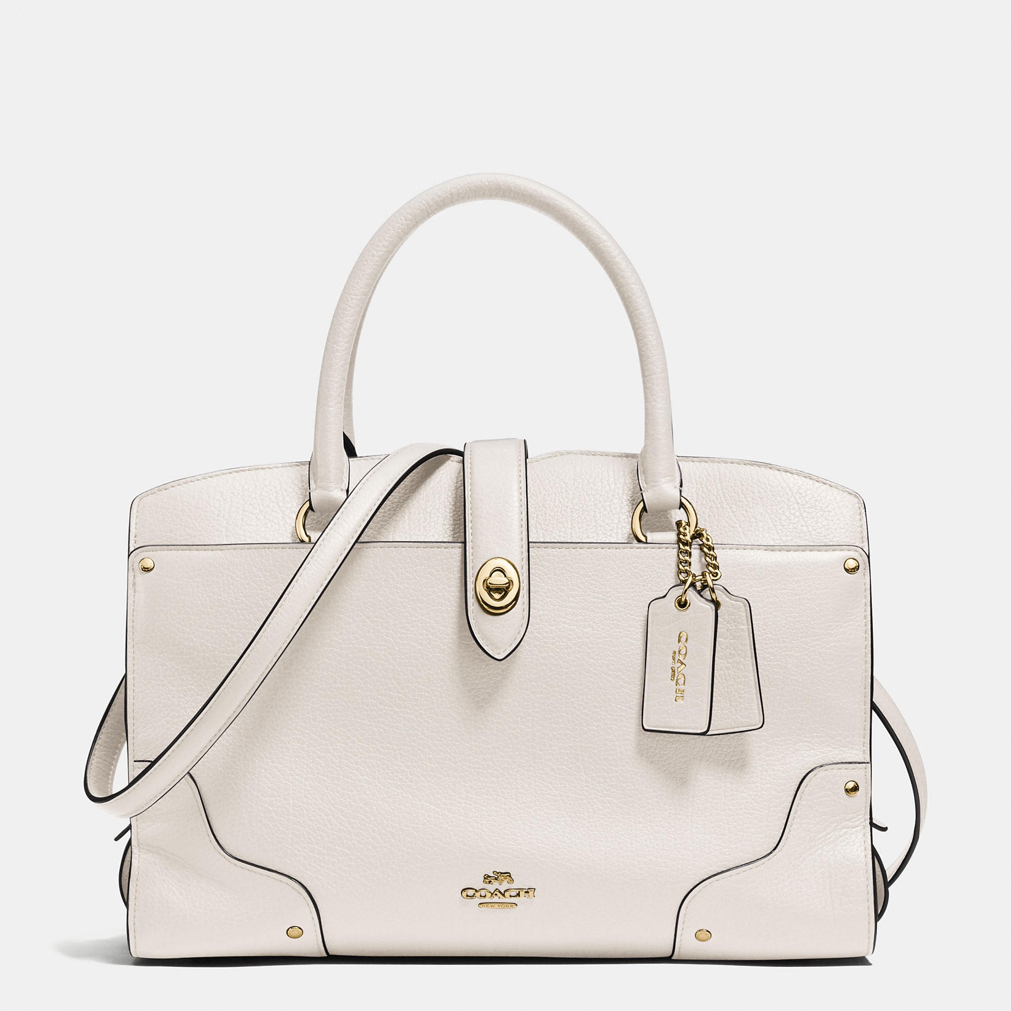COACH Mercer Satchel 30 In Grain Leather at SPRING