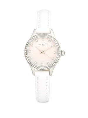 TED BAKER Crystal-Encrusted Analog Fashion Watch