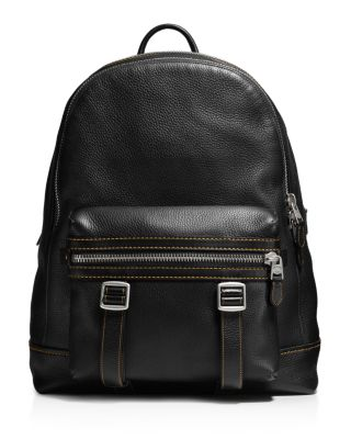 COACH 1941 Flag Backpack In Pebble Leather at Bloomingdale's