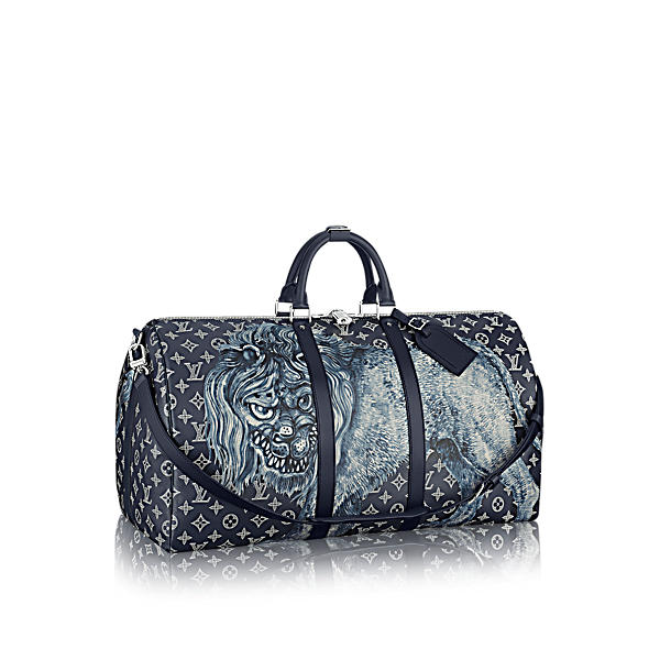 LOUIS VUITTON Keepall Bandoulière 55 in Monogram_Other