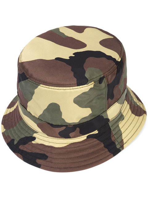 GIVENCHY Camouflage Bucket Hat, Multicolor at Farfetch