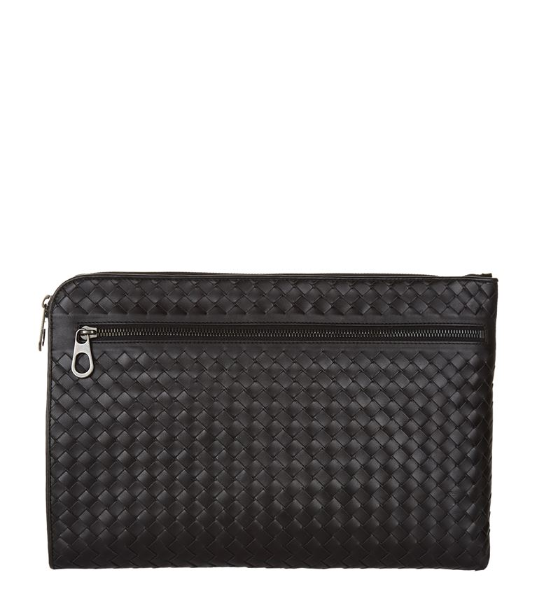 BOTTEGA VENETA Intrecciato Leather Document Holder at Harrods