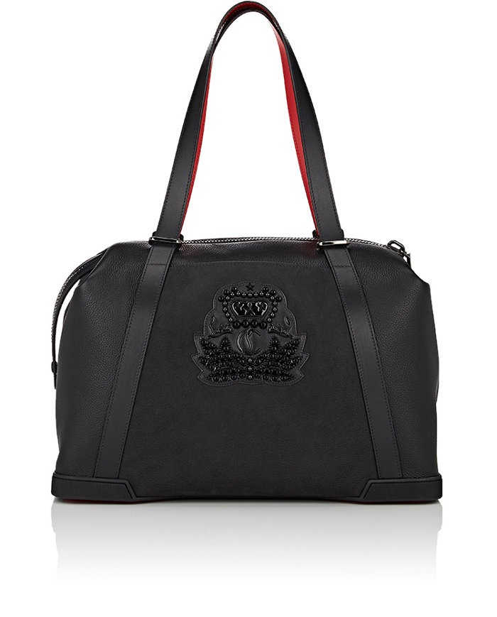 CHRISTIAN LOUBOUTIN Bagdamon Day Bag in Black
