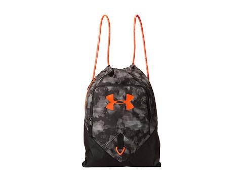 UNDER ARMOUR Ua Undeniable Sackpack in Tan Stone/Black/Bolt Orange