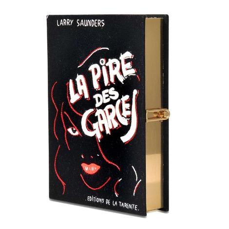 OLYMPIA LE-TAN La Pire Des Garces Book Clutch