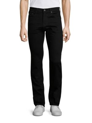 AG Matchbox Slim-Straight Jeans in 2 Years Abacus