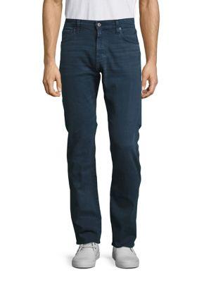 AG Matchbox Slim-Straight Jeans in 2 Years Blue Ridge
