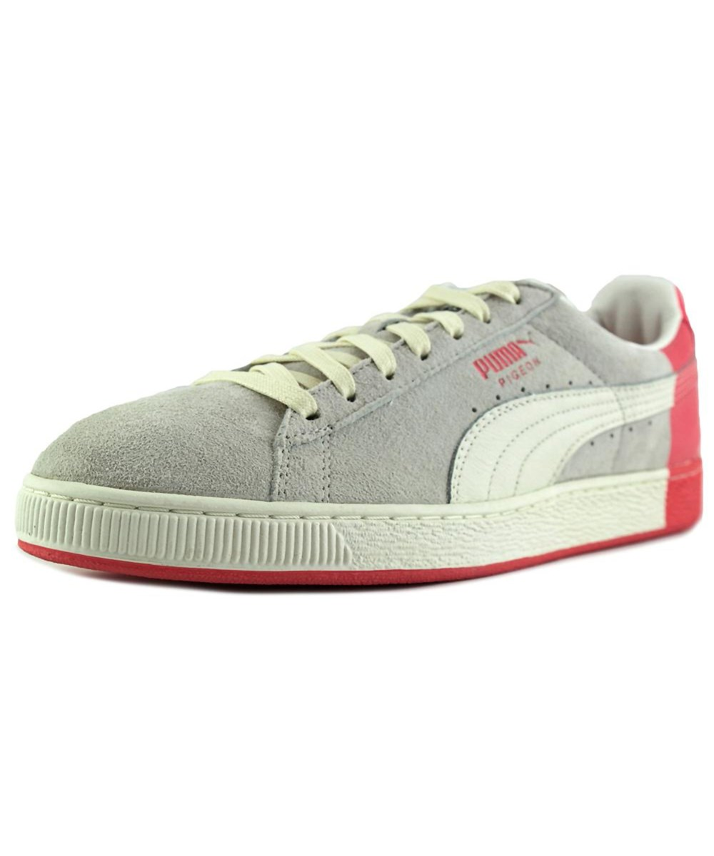 PUMA Puma Suede X Staple Men  Round Toe Suede White Sneakers'