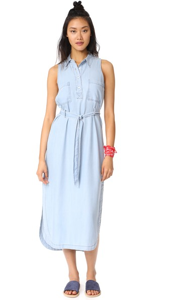 BB DAKOTA Maise Maxi Dress in Light Blue