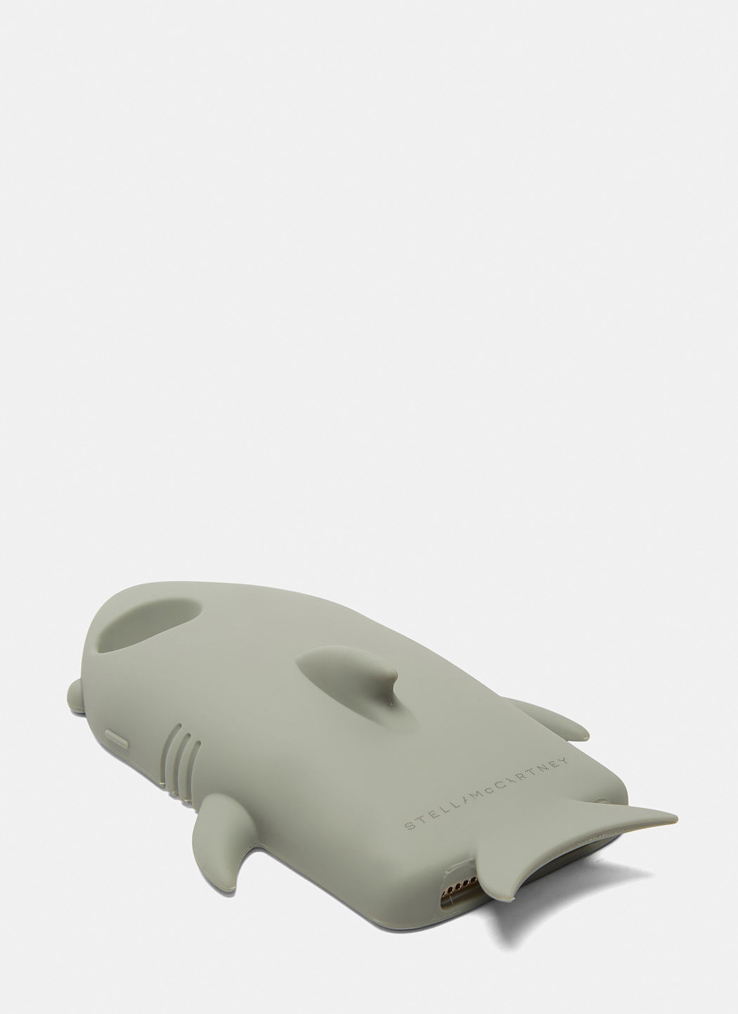 STELLA MCCARTNEY Shark Gummy Silicon Iphone 6 Case, Grey in Gray
