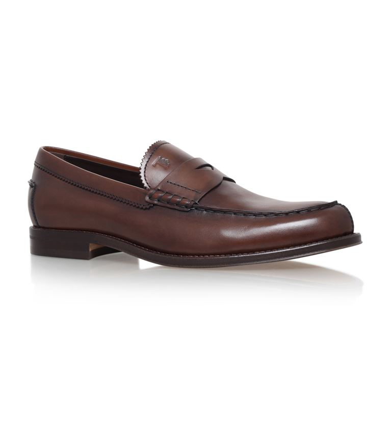 TOD'S Penny Loafers in Brown