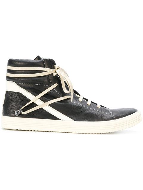 RICK OWENS Thrasher Hi-Top Sneakers