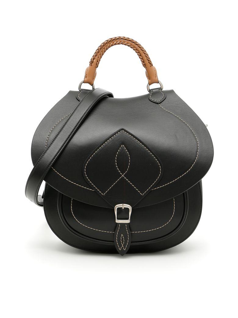 MAISON MARTIN MARGIELA Calfskin Bag in Nero|Marrone