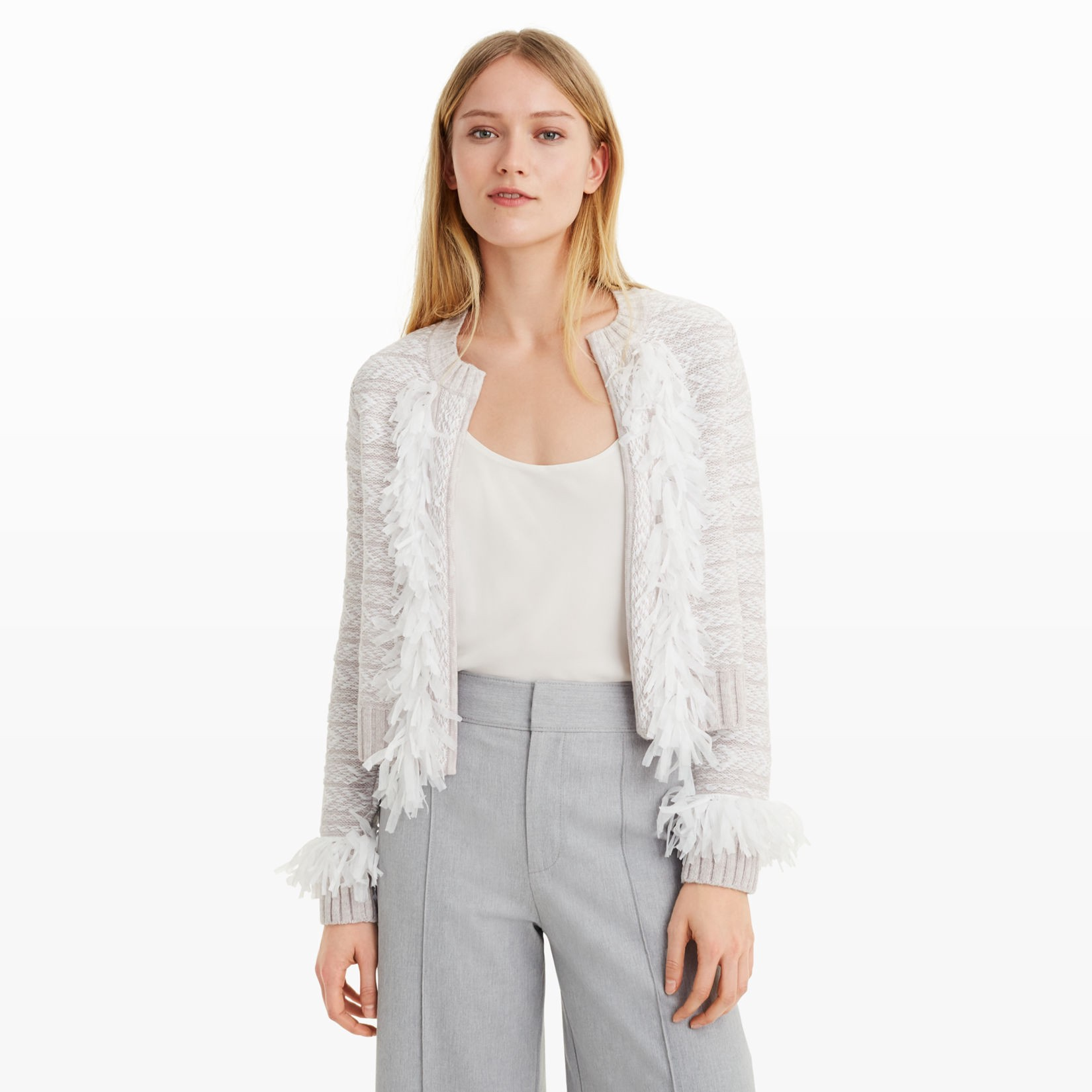 CLUB MONACO Mahssa Sweater Jacket in Spring Blossom
