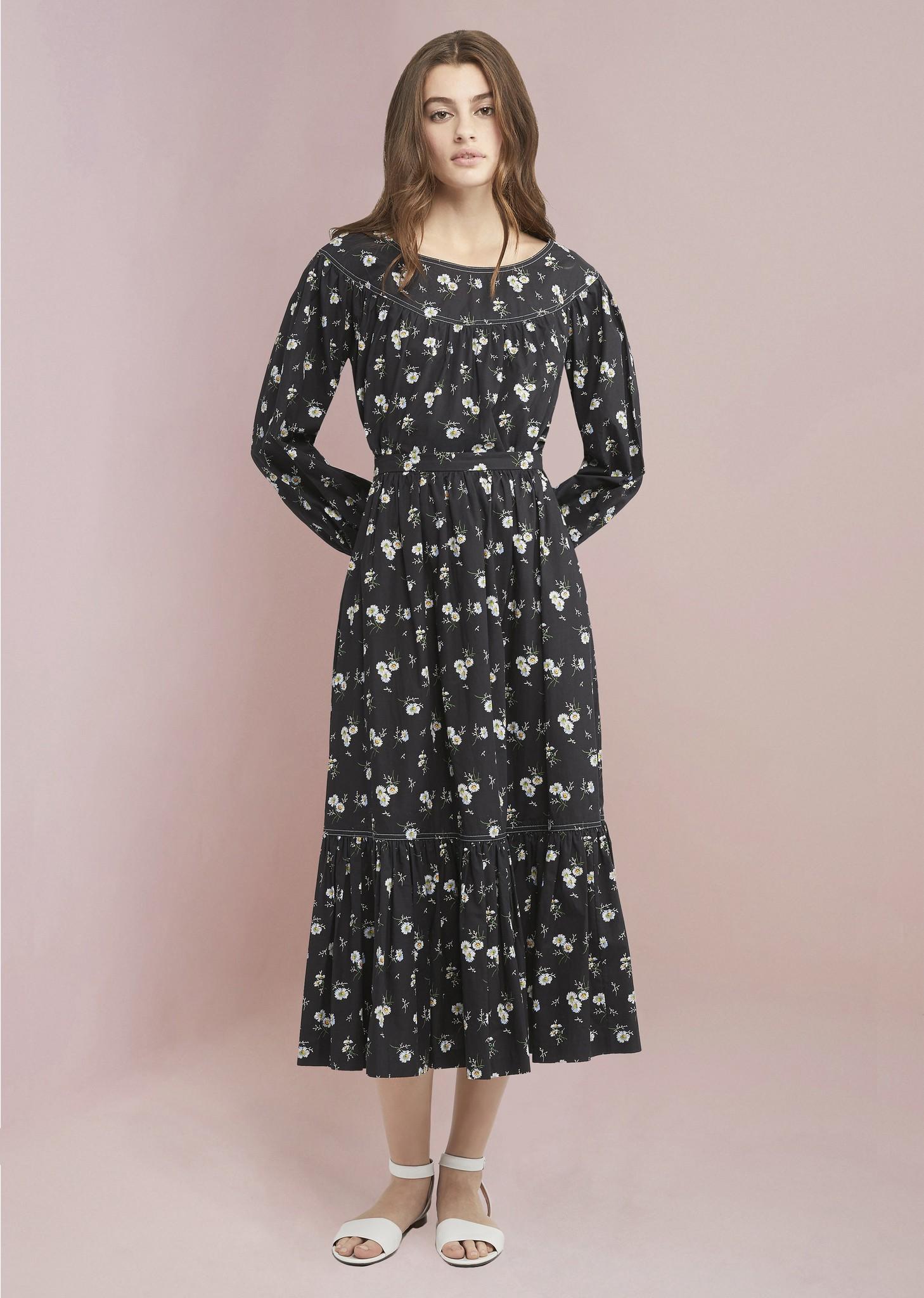 JILL STUART Mimi Skirt in Mini Daisy Print