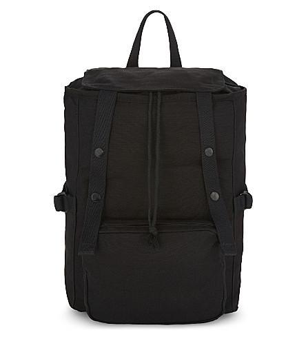 EASTPAK X Raf Simons Toploader Backpack in Rs Black