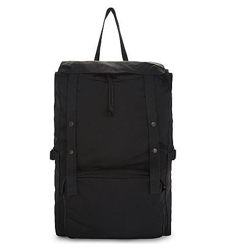 EASTPAK X Raf Simons Large Toploader Backpack in Rs Black