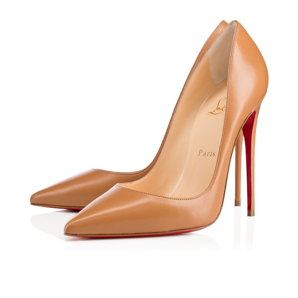 CHRISTIAN LOUBOUTIN So Kate 120Mm Nats Nude Leather at Christian Louboutin