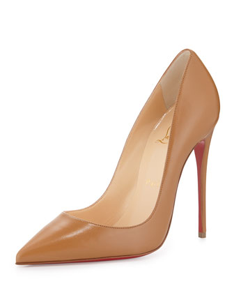 CHRISTIAN LOUBOUTIN So Kate 120Mm Nats Nude Leather at BERGDORF GOODMAN