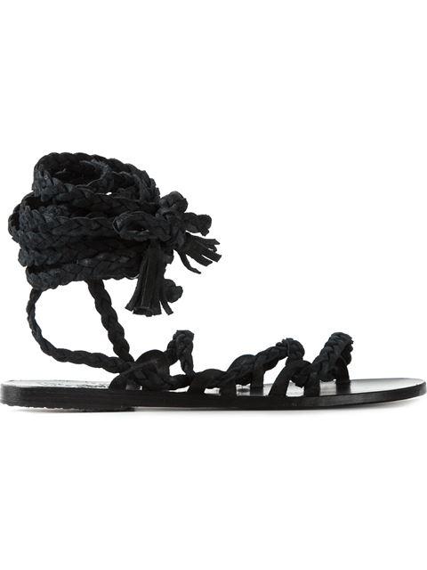 ANCIENT GREEK SANDALS 'Kariatida' Sandals