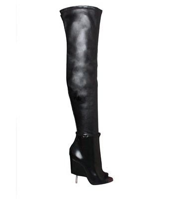 GIVENCHY 115Mm Narlia Stretch Nappa Leather Boots, Black at L'INDE LE PALAIS