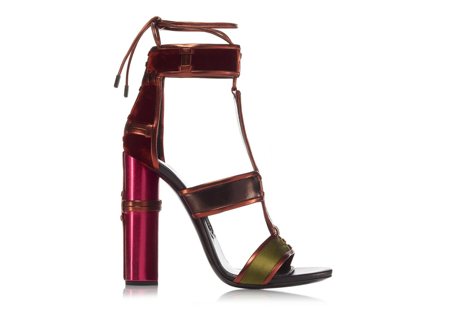 TOM FORD Patchwork Sandal