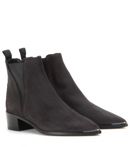 ACNE STUDIOS Jensen Pointy-Toe Ankle Boot, Black at mytheresa.com