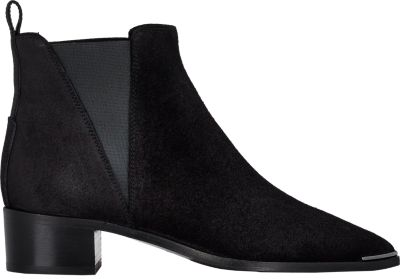 ACNE STUDIOS Jensen Pointy-Toe Ankle Boot, Black at BARNEYS