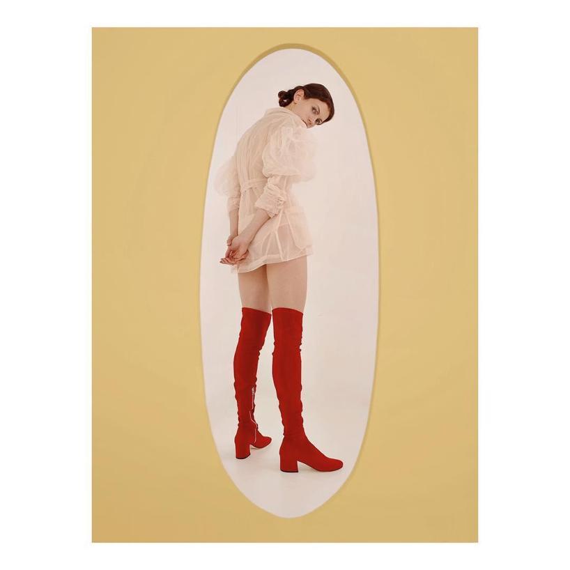 DORATEYMUR 'Sybil' Over The Knee Boots