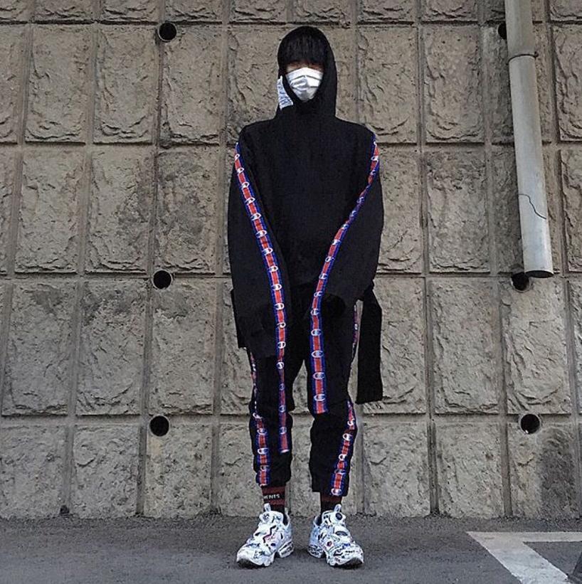 VETEMENTS + Reebok Instapump Fury Printed Neoprene And Canvas Sneakers